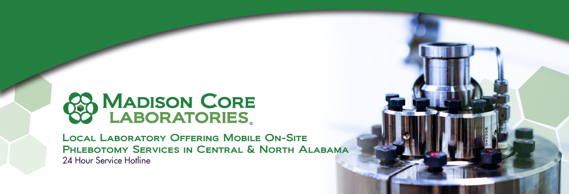 Madison Core Labs - Madison, AL - Website Banner 2