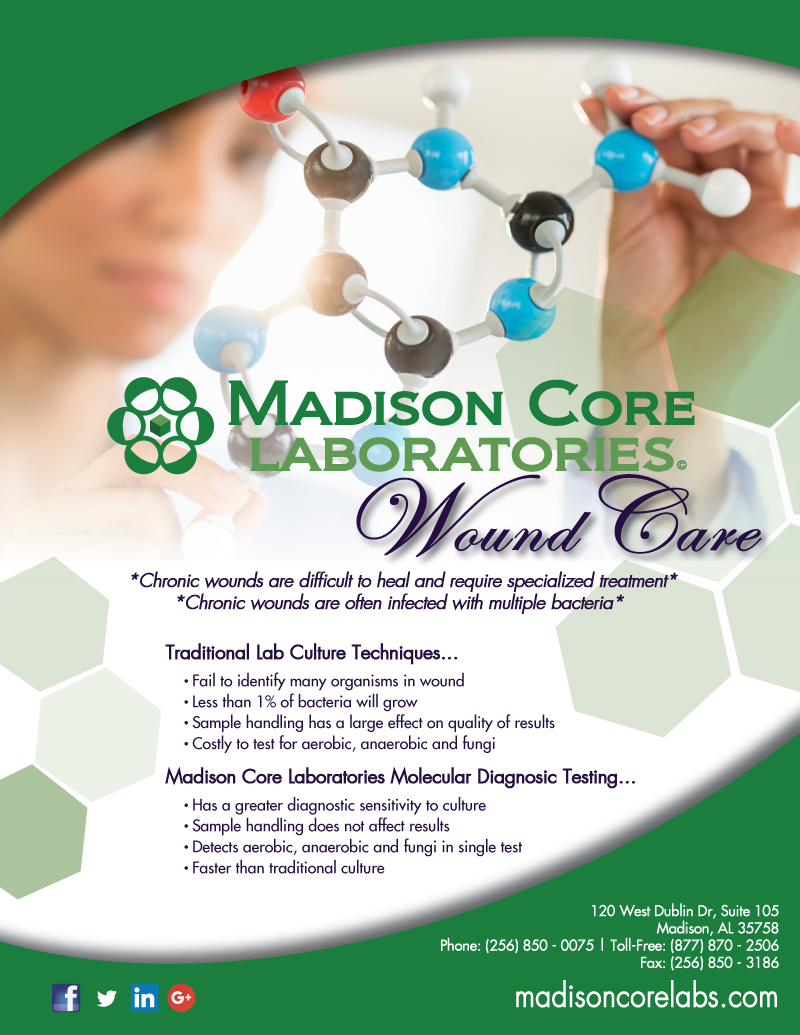 Madison Core Labs - Madison, AL - Wound Care